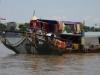 Wonen en werken op de Mekong River, de vissers