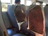 De schoolbus heeft zijn beste tijd wel gehad