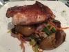 We eten bij Tri by Aborigen. Heerlijk, na de teleurstelling van gisteren