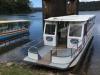 Als de boot heeft aangelegd is het nog een klein half uurtje naar La Fortuna