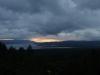 Zonsondergang boven het meer van Arenal