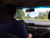 Met de taxi naar de grens
