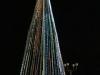 De kerstboom van San Carlos in volle glorie