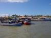 De havenmond van San Jorge