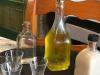 Na het eten krijgen we een glaasje Orujo