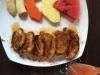 Een verrassend ontbijt, wentelteefjes met fruit