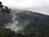 Even buiten het dorp is de afslag naar het Parque Nacional Volcan Tenorio