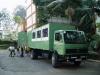Truck die ons door Kenya zal voeren