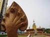 Boeddha op de rotonde