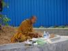 Ook Boeddha's moeten eten