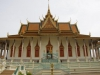 De zilveren Pagode, of wel Wat Preha Keo, de Smaragden Boeddha met 5000 zilveren tegels