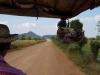 Or Oeurm, onze gids en TukTuk driver rijdt ons naar Phnom Dampeau