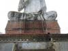 De megagrote Boeddha was van ver af al te zien