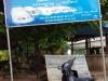 Bij de pier van de Angkor Express worden we om half 7 's morgens afgezet