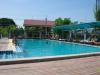 Chillen bij het zwembad vandaag