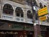 Hotel Lankham, om de hoek aan een drukke doorgaande weg