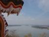 Uitzicht op de Mekong River