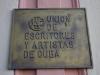 Union de escritores y artistas de Cuba
