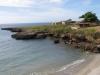 De kustlijn, net buiten Trinidad