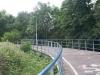 We naderen de brug over de Schie