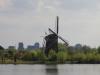 Bergsche Voorplas, Prinsenmolen en skyline Rotterdam