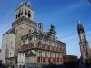 Stadhuis en Nieuwe Kerk