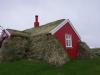 Lindarbakki, gebouwd van turf, steen, hout en cement
