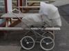 Kinderwagen voor het hotel