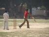 Cricket, op een braakliggend terrein
