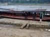 De drijvende steiger van de Port of Luang Prabang