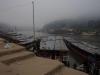 Over de Mekong River hangt ook de nevel