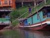 De haven van Houay Xai