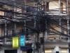 Het electriciteitsnet van Vientiane