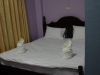 Onze net opgepimpte kamer in het Soutjai Guest House
