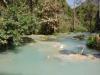 De lagune van de Kuang Si Watervallen