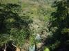 Van boven naar beneden en van beneden naar boven is de waterval sprookjesachtig