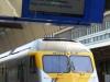 De Belgische trein naar Hasselt stopt in Eijsden