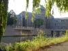 We passeren het Gouvernementsgebouw, zoals ze hier in Maastricht zeggen
