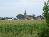 In de verte ligt Rekem, het mooiste dorp van Vlaanderen