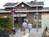 Station Roermond, helaas missen we de trein maar hebben we wel een foto