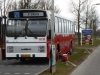 Noordeinde, de oude RET bus, die omgetoverd is tot 'stembus'