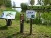 . Rechts ligt het Fort bij Tienhoven, onderdeel van de Utrechtse Waterlinie