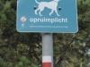 Uitlaatgebied voor honden