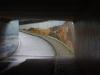 De de fraai betegelde Erik Hazelhoff Roelfzema tunnel voor fietsers en voetgangers