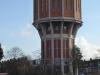 De karakteristieke watertoren, gebouwd in 1908