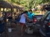 Las Lajas op zondag is een stuk drukker