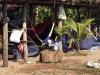 Hele tentenkampen worden er neergezet