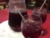 Om de herinnering vast te houden bestellen we nu ook een liter sangria
