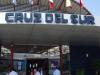 De busterminal van Cruz del Sur