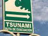 In geval van tsunami, ..... rennen